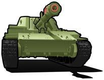 Schwerer Panzer Stockbild