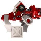 Schwerer Roboterarm, Ladung Lizenzfreie Stockfotografie