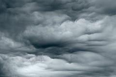 Schwerer Sturm Stockfoto