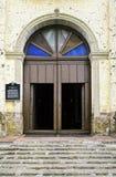 Kirchen-Bogen-Eingang lizenzfreie stockbilder