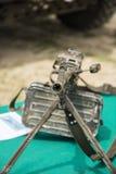 Schweres Maschinengewehr Stockfotos