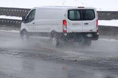 Schweres regnerisches Wetter in Lewiston-Tal Lizenzfreie Stockfotos