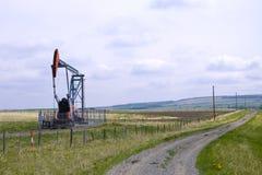 Schweres Schmieröl-Pumpe Jack Stockbilder