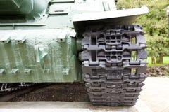 Schweres selbstfahrendes Modell 1943 der Artillerie ISU-152 Lizenzfreie Stockfotos