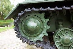 Schweres selbstfahrendes Modell 1943 der Artillerie ISU-152 Stockbilder