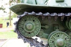 Schweres selbstfahrendes Modell 1943 der Artillerie ISU-152 Stockbild
