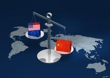 Schwergewichts- China-Wiedergabe Lizenzfreies Stockbild