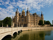 Schwerin παλάτι Στοκ εικόνες με δικαίωμα ελεύθερης χρήσης