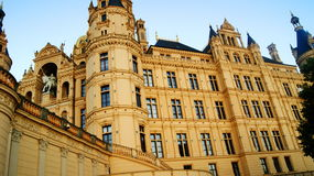 Schwerin παλάτι Στοκ Εικόνες