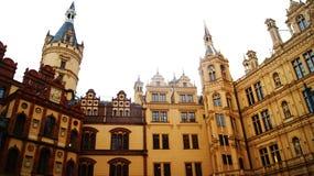 Schwerin παλάτι Στοκ εικόνα με δικαίωμα ελεύθερης χρήσης