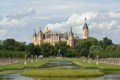 Schwerin Castle Royalty Free Stock Photography