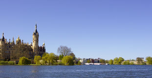 Schwerin Castle Στοκ εικόνες με δικαίωμα ελεύθερης χρήσης