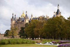 Schwerin castle Stock Images