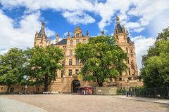 Schwerin Castle, Germany Stock Photos
