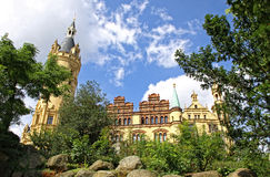 Schwerin Castle, Germany Stock Photography