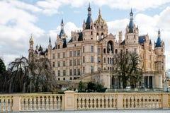 Schwerin castle stock images