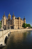 Schwerin castle, Mecklenburg, Germany Royalty Free Stock Photography
