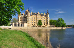 Schwerin castle, Mecklenburg, Germany Royalty Free Stock Photo