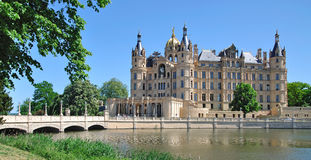 Schwerin Castle,Mecklenburg Lake District,Germany Royalty Free Stock Photos