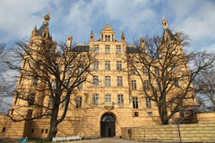 Schwerin Castle Stock Photo