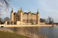 Schwerin Castle Stock Photo