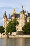 Schwerin castle, seat of the Landtag Royalty Free Stock Images