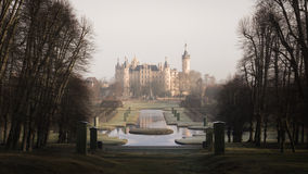 The Schwerin Castle in Winter Royalty Free Stock Image