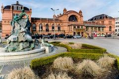 Schwerin centrali stacja zdjęcie stock