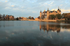 Schwerin chateau scenery Royalty Free Stock Photo