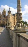 Schwerin - Kasteelbrug I - Royalty-vrije Stock Afbeeldingen