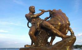 Schwerin - kasztel Hercules Ja - Obrazy Royalty Free