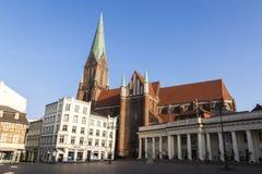 Schwerin-Kathedrale, Deutschland Lizenzfreies Stockbild