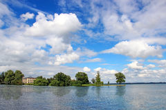 Schwerin lake, Germany Royalty Free Stock Image