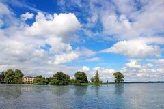 Schwerin lake, Germany Royalty Free Stock Image