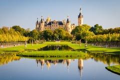 Schwerin pałac Zdjęcia Royalty Free