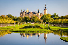 Schwerin Palace Royalty Free Stock Photos