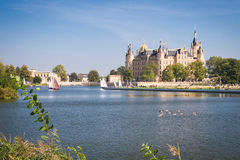 Schwerin Palace Royalty Free Stock Photography