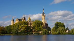Schwerin palace. Schwerin in Germany, the famous palace