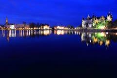 Schwerin panorama Royalty Free Stock Photos