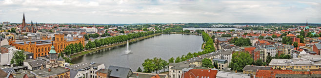 Schwerin, Panorama Royalty Free Stock Images