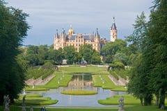 Schwerin-Schloss Stockfotos