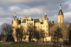 Schwerin slott Arkivfoton