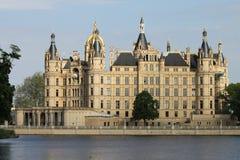 Schwerin slott Arkivbild