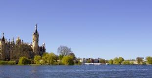 Schwerin slott Royaltyfria Bilder