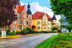 Schwerin Tyskland Arkivfoton