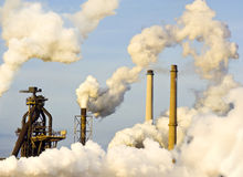 Schwerindustrie Lizenzfreies Stockfoto