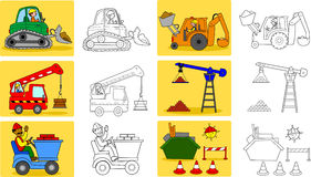 Schwerindustrie machineries Stockfotos