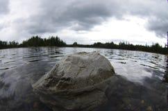Schwermütiger Felsen Stockfotografie