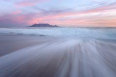 Schwermütiger Tafelberg Lizenzfreies Stockfoto