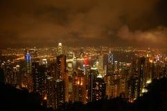Schwermütiges Hong Kong Stockfoto